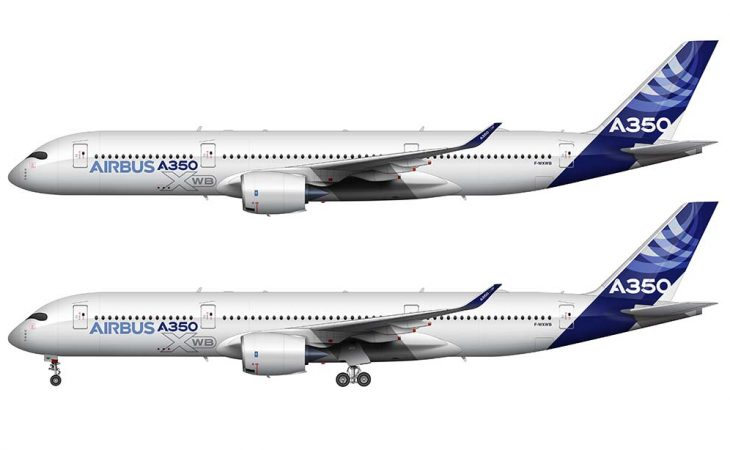 Airbus A350-900 livery