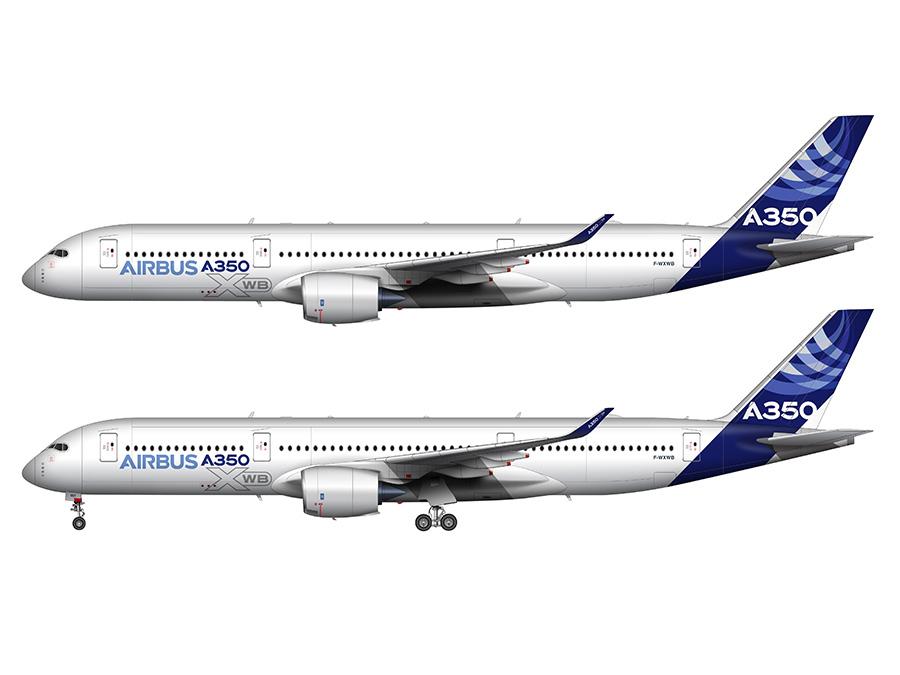 A350-900 WXB preview