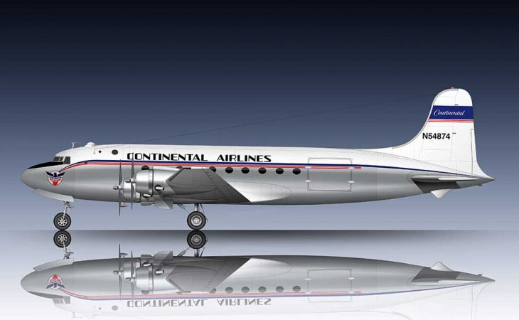 Continental Airlines livery