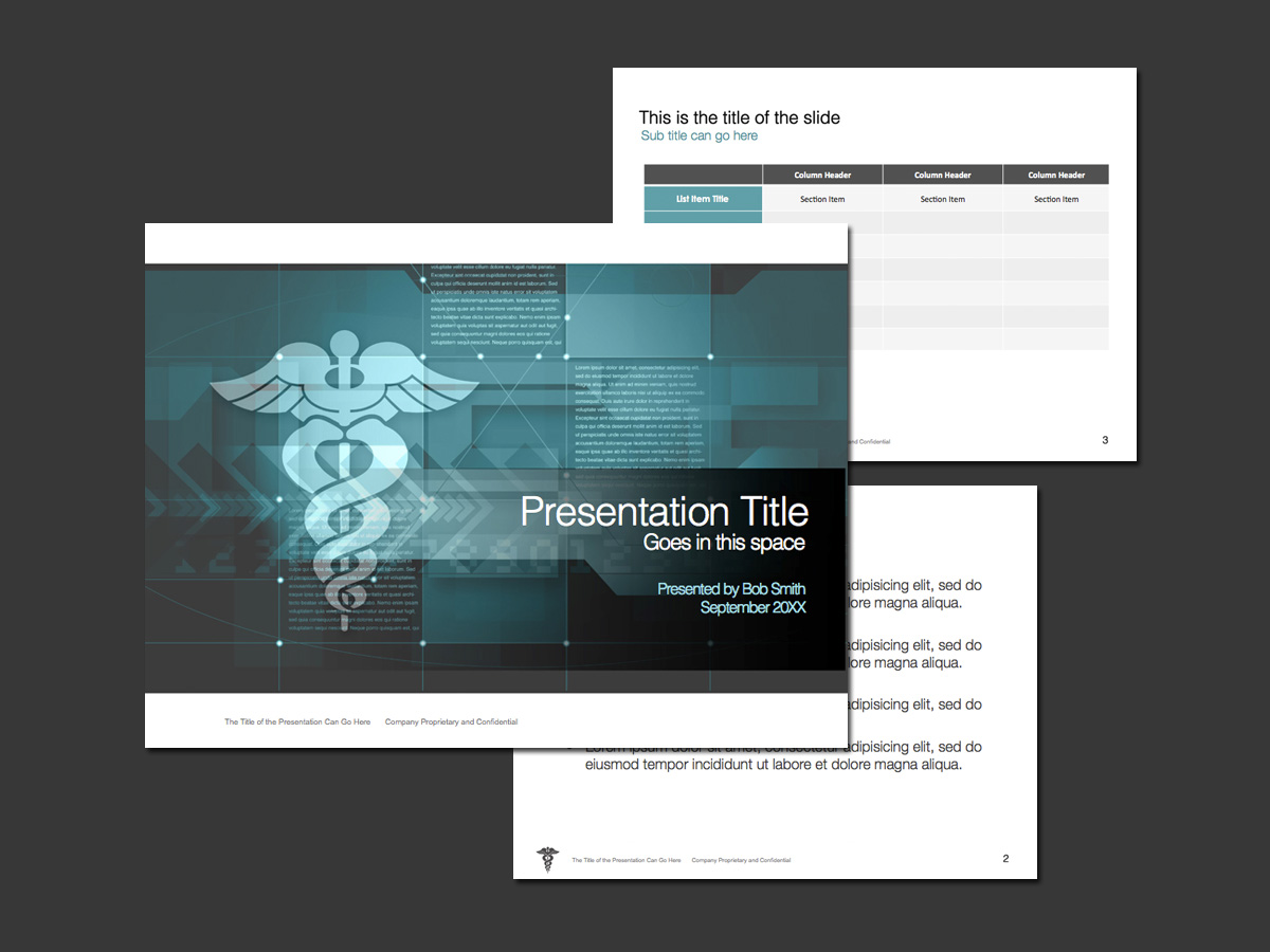 medical and healthcare PowerPoint theme