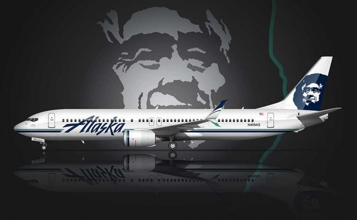 Alaska Airlines livery