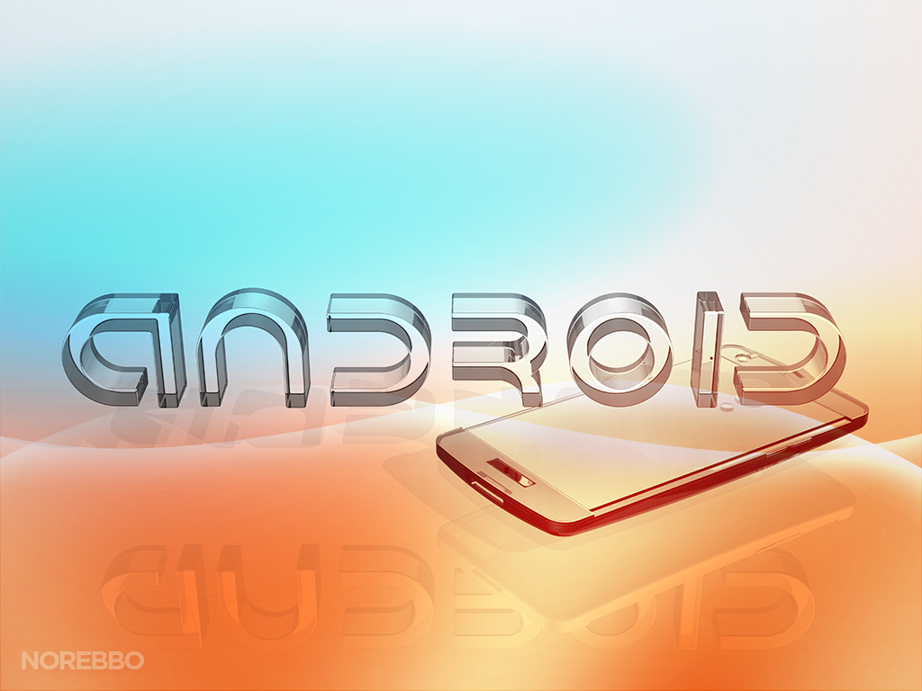 glass Android logo