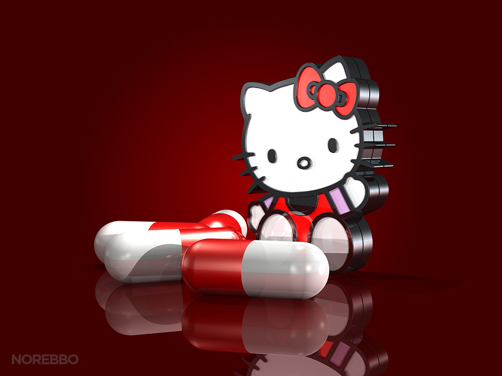 Addicted to Hello Kitty