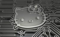 hello kitty electronic circuit board