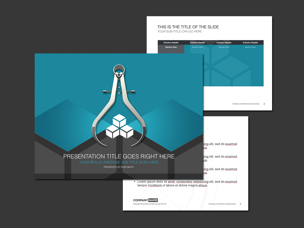 5 Keynote presentation templates featuring precision