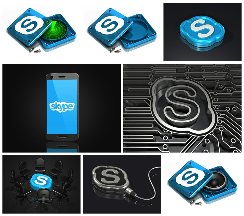more Skype logos available on my store
