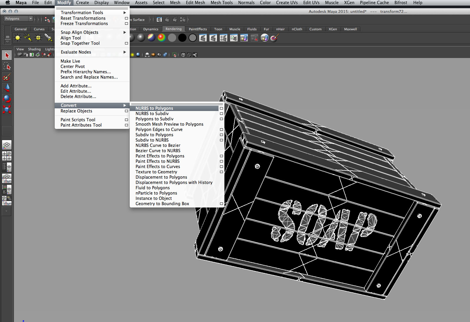The best way to export FormZ 3d models to Maya – Norebbo
