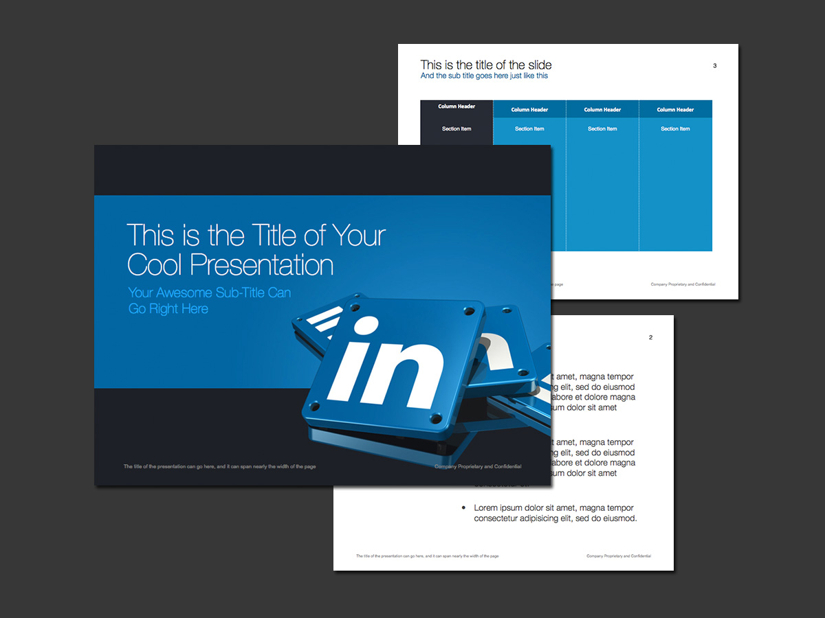 linkedin theme for powerpoint norebbo