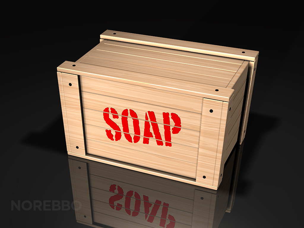 soap box illustration