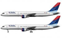 Delta Airlines Colors in Motion livery