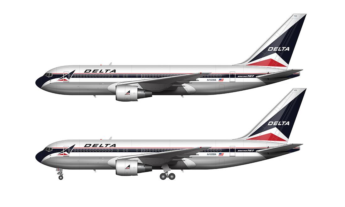 DL 767-200