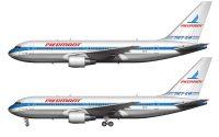 Piedmont Airlines Boeing 767-201/ER