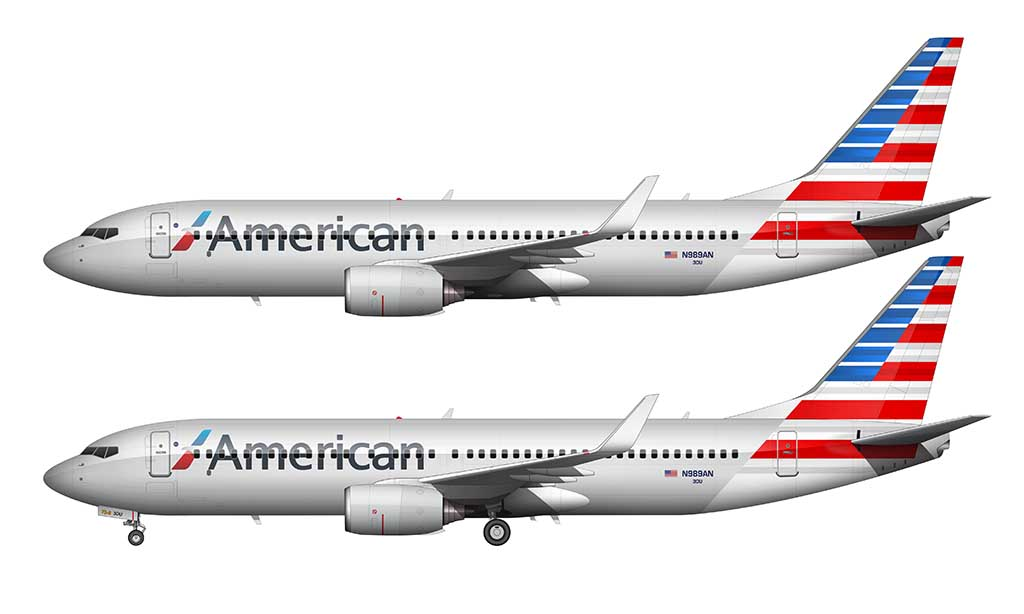 AA new colors 737-800