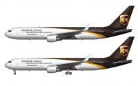 UPS 767-300F drawing