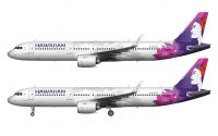 new Hawaiian Airlines livery