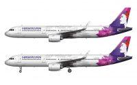 new Hawaiian Airlines livery