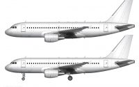 all white A319 template