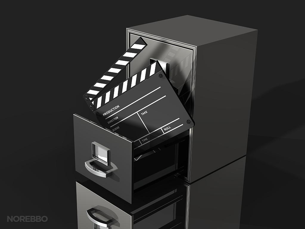 movie database stock photo