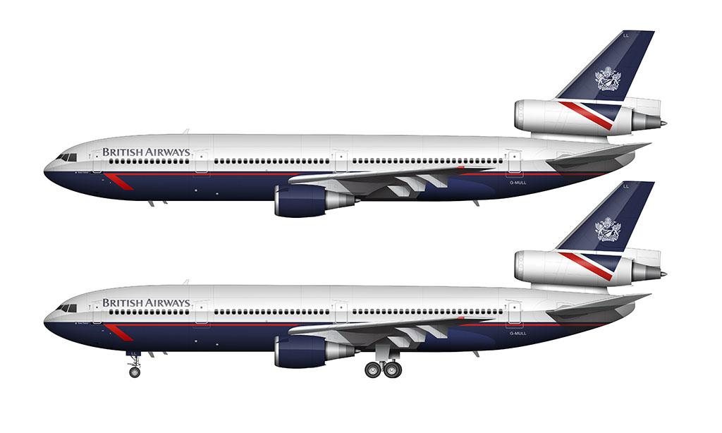 British Airways Landor livery