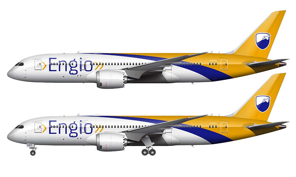 custom 787-8 livery design