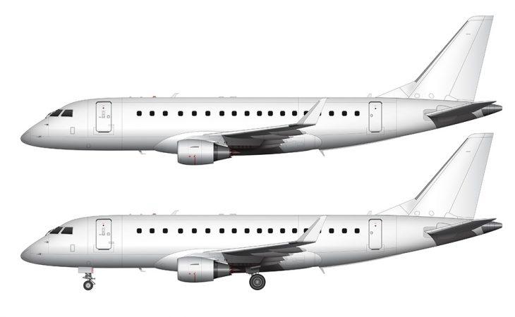 err-175 new winglet