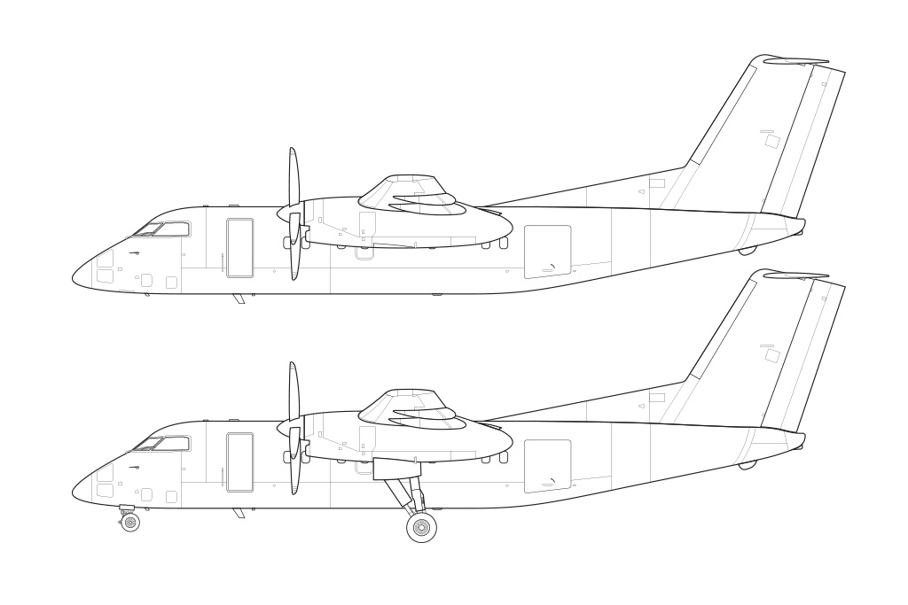 Dash 8 blueprint