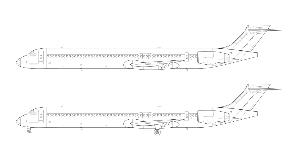 MD-90 blueprint