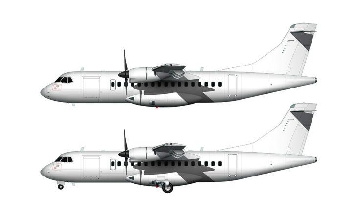 ATR 42-600 side view