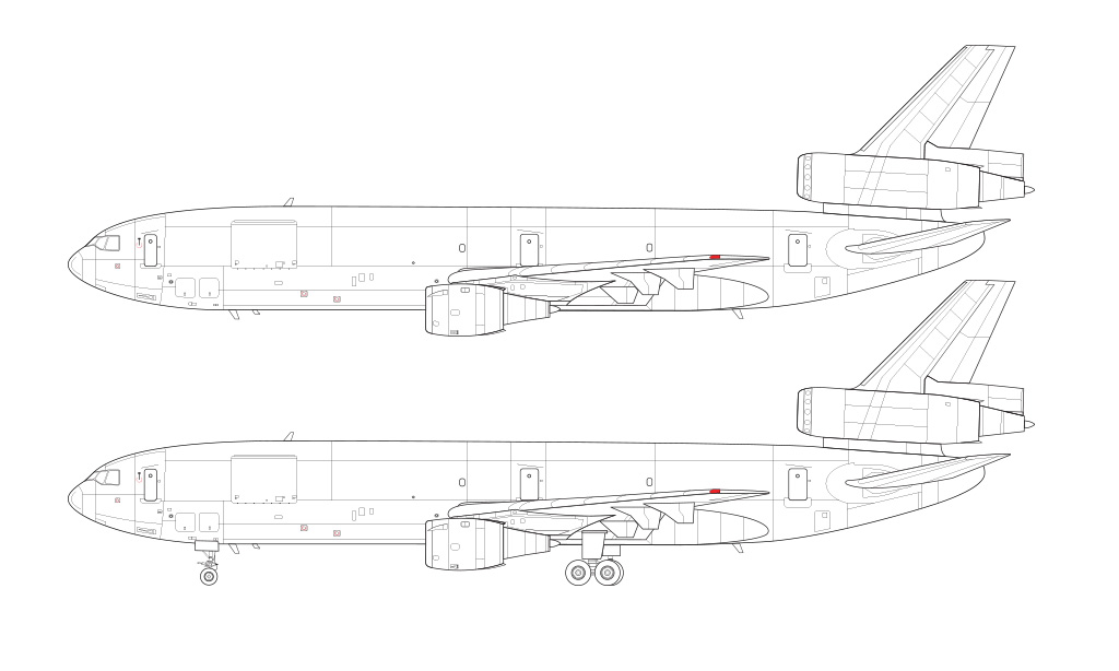 DC-10-30F / MD-10 blueprint