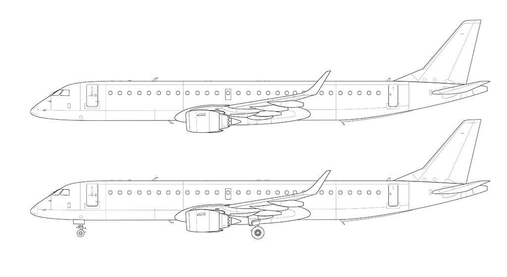 E195 blueprint