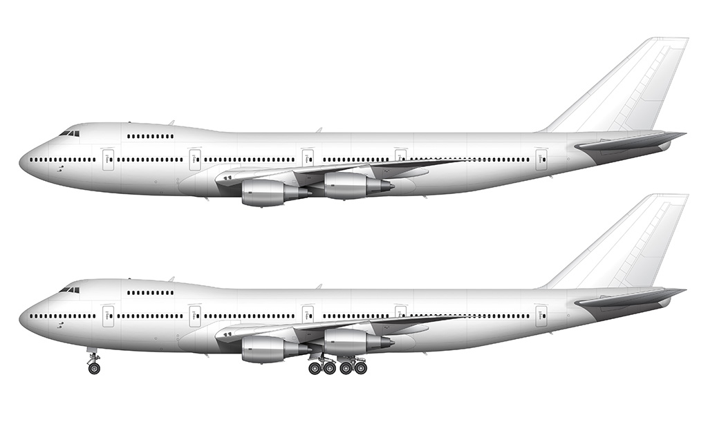 Boeing 747-200 General Electric engines