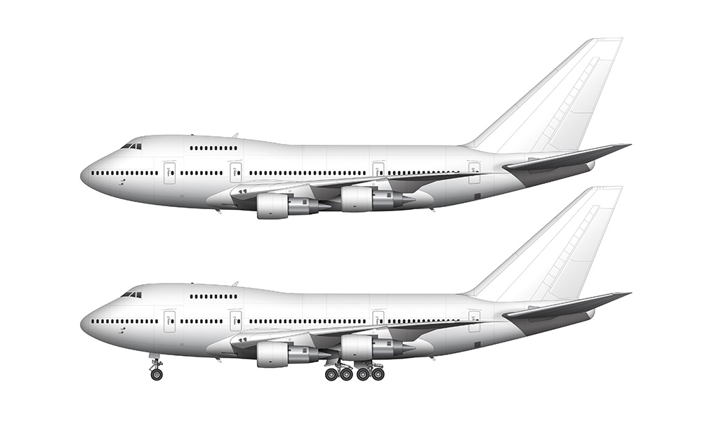 Boeing 747SP Pratt Whitney