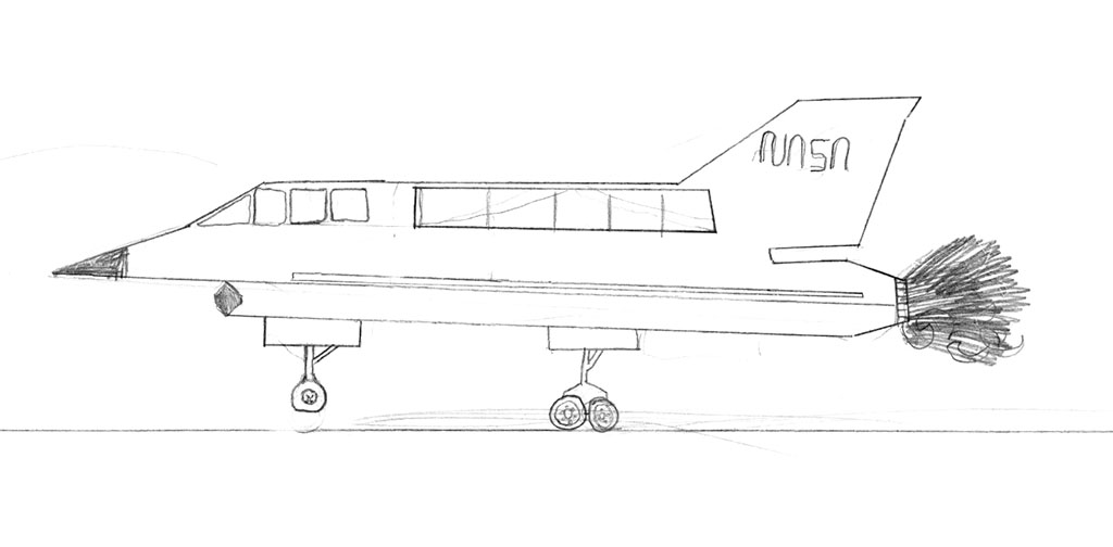 The very first Norebbo aircraft template