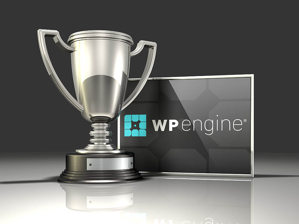 create a blog with WP engine