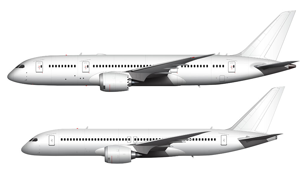 787 vs 797
