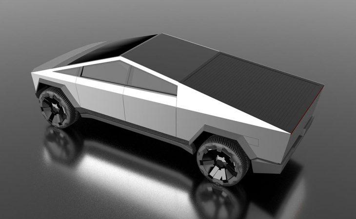 Tesla Cybertuck 3d model