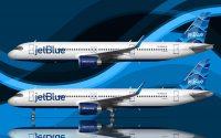 JetBlue Streamers tail design