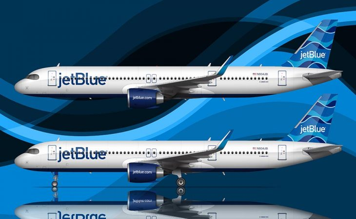 JetBlue Streamers tail design