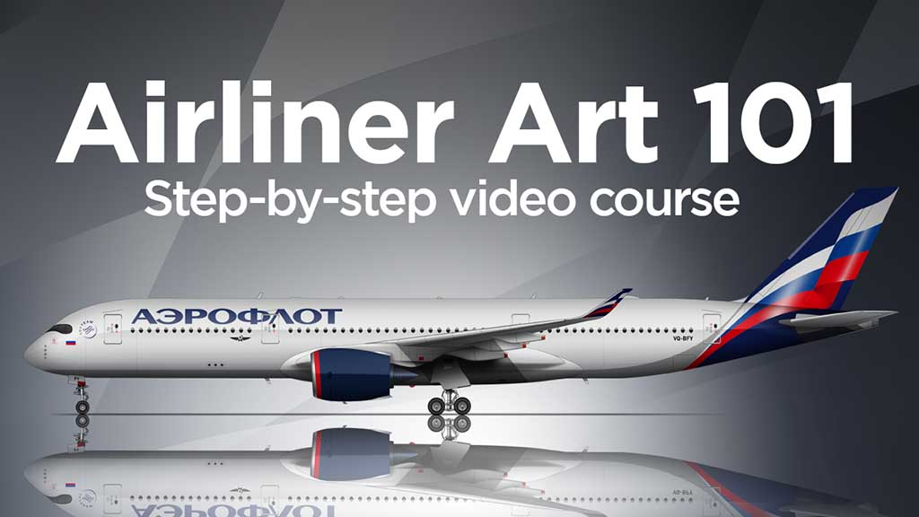 Norebbo Airliner Art 101 video course